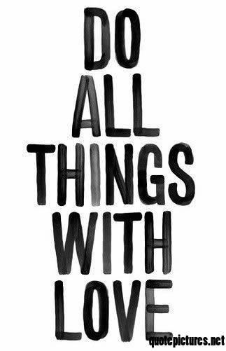 do all things with love michael cina