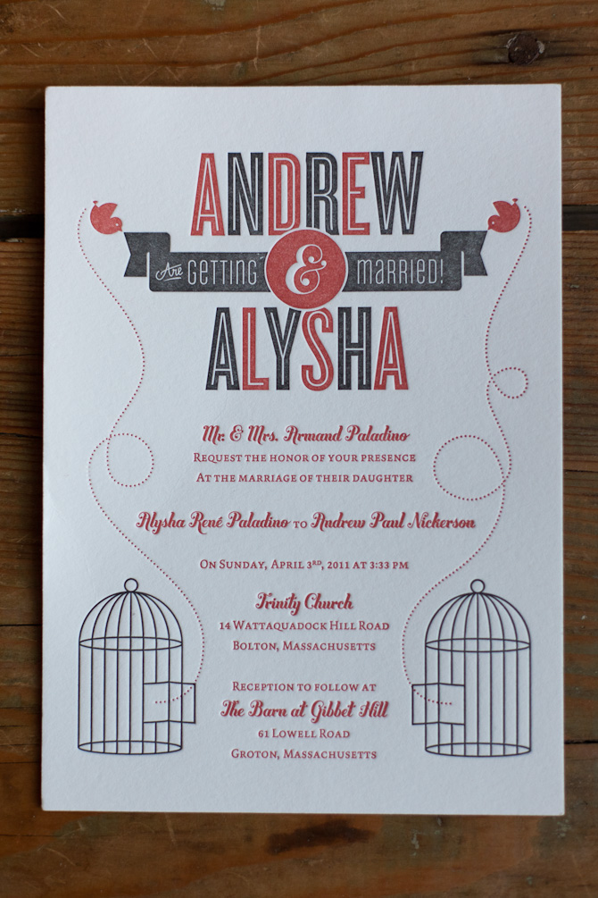 40 unique wedding invitation designs - dzineblog, Wedding invitations