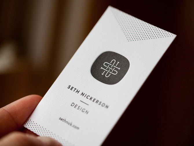 Personal Business Cards Seth Nickerson