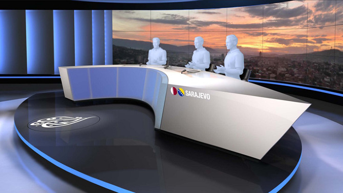 Al Jazeera Balkans News Studio