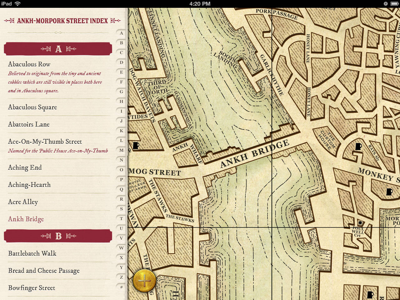 The Ankh Morpork Map App Rob Corradi Digital Creative Director