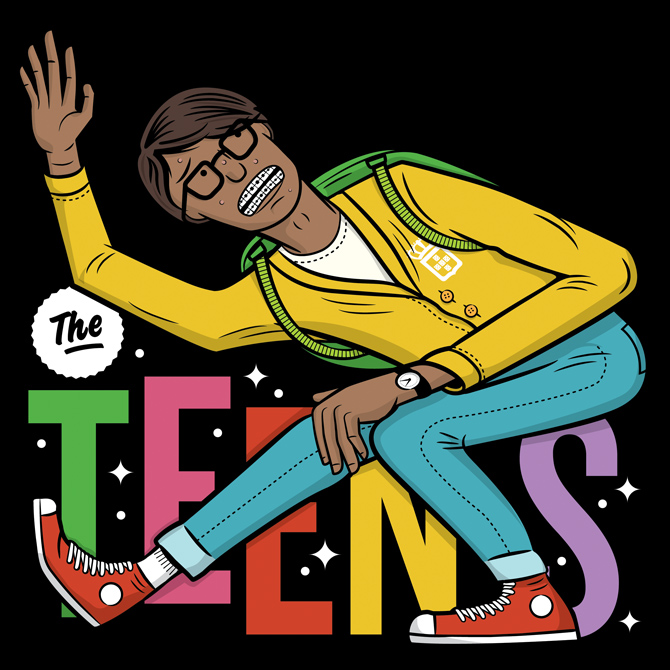 obrigado cover - the teens - adam hill    velcrosuit