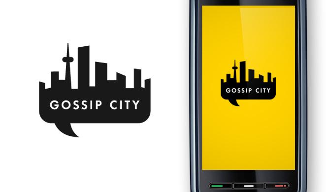 Gossip City - Adam Hill / Velcrosuit - Graphic Design