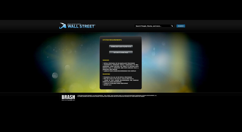 Wallstreet Virtual World - Jason Festa - Product Designer
