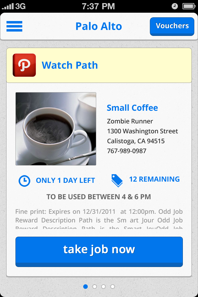 Odd Job (iOS Application) - Jason Festa - Product Designer