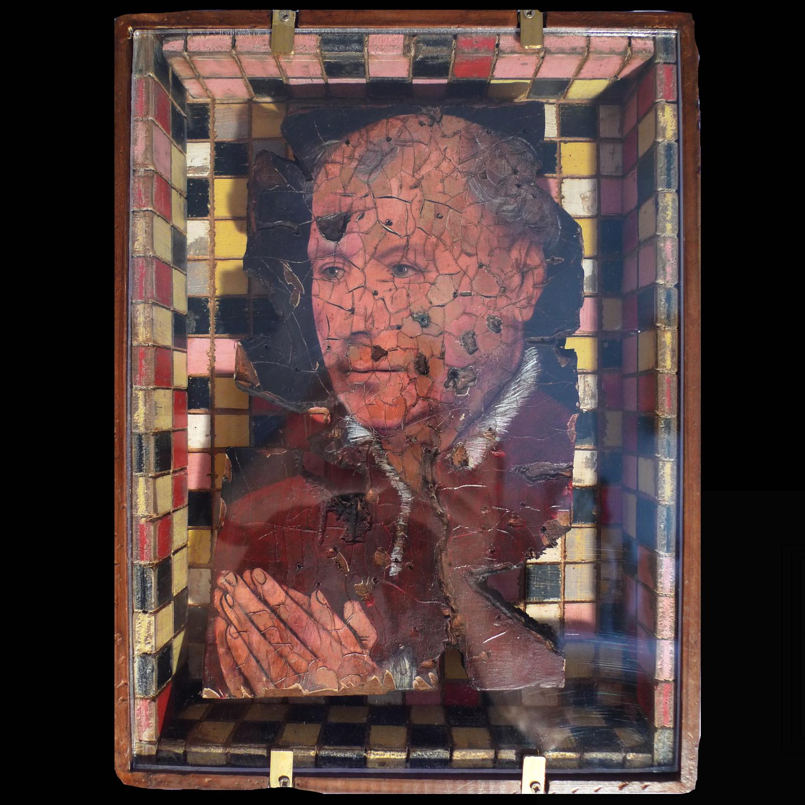 Man Praying Joris Ghilini De La Peinture à La Sculpture
