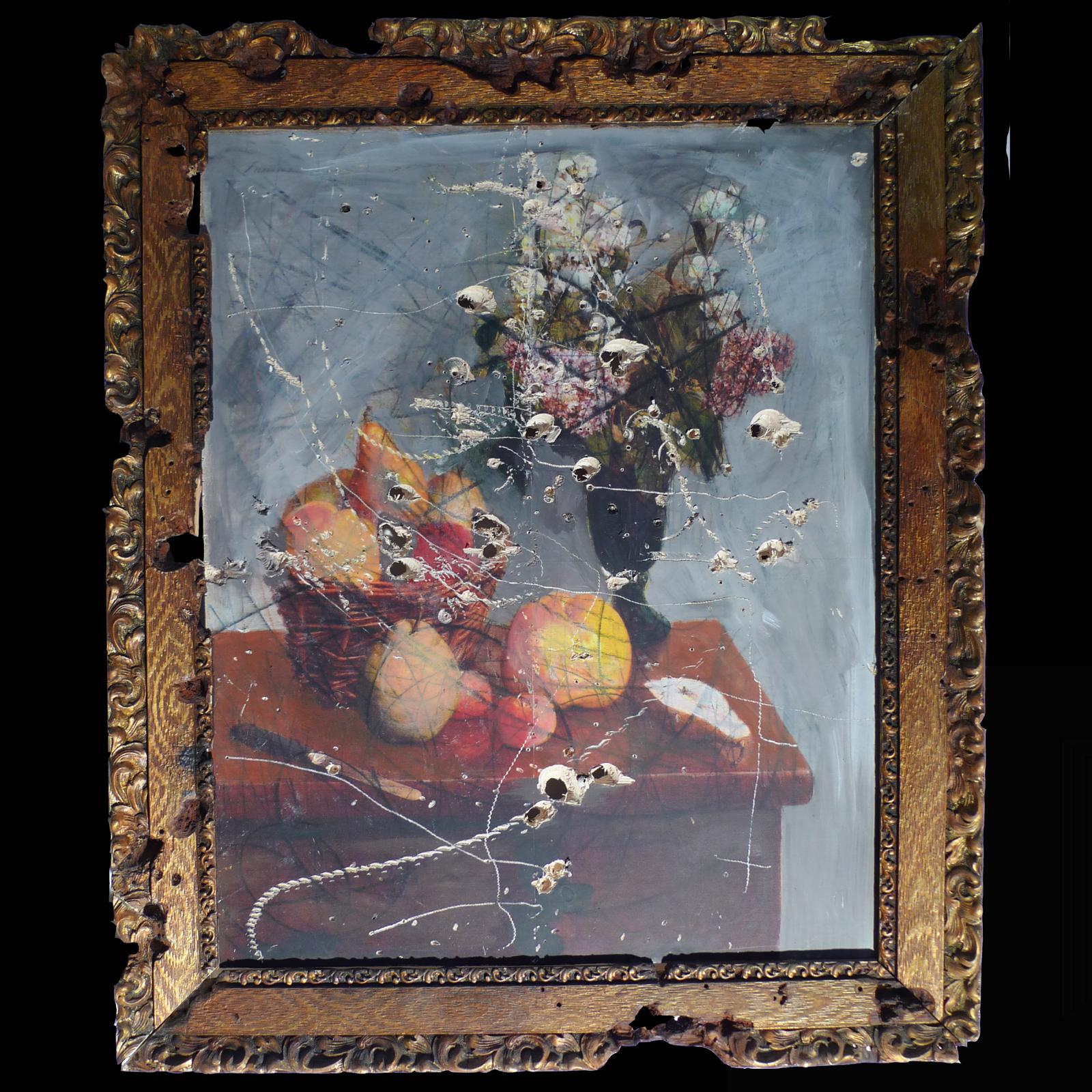 Nature Morte Joris Ghilini De La Peinture à La Sculpture