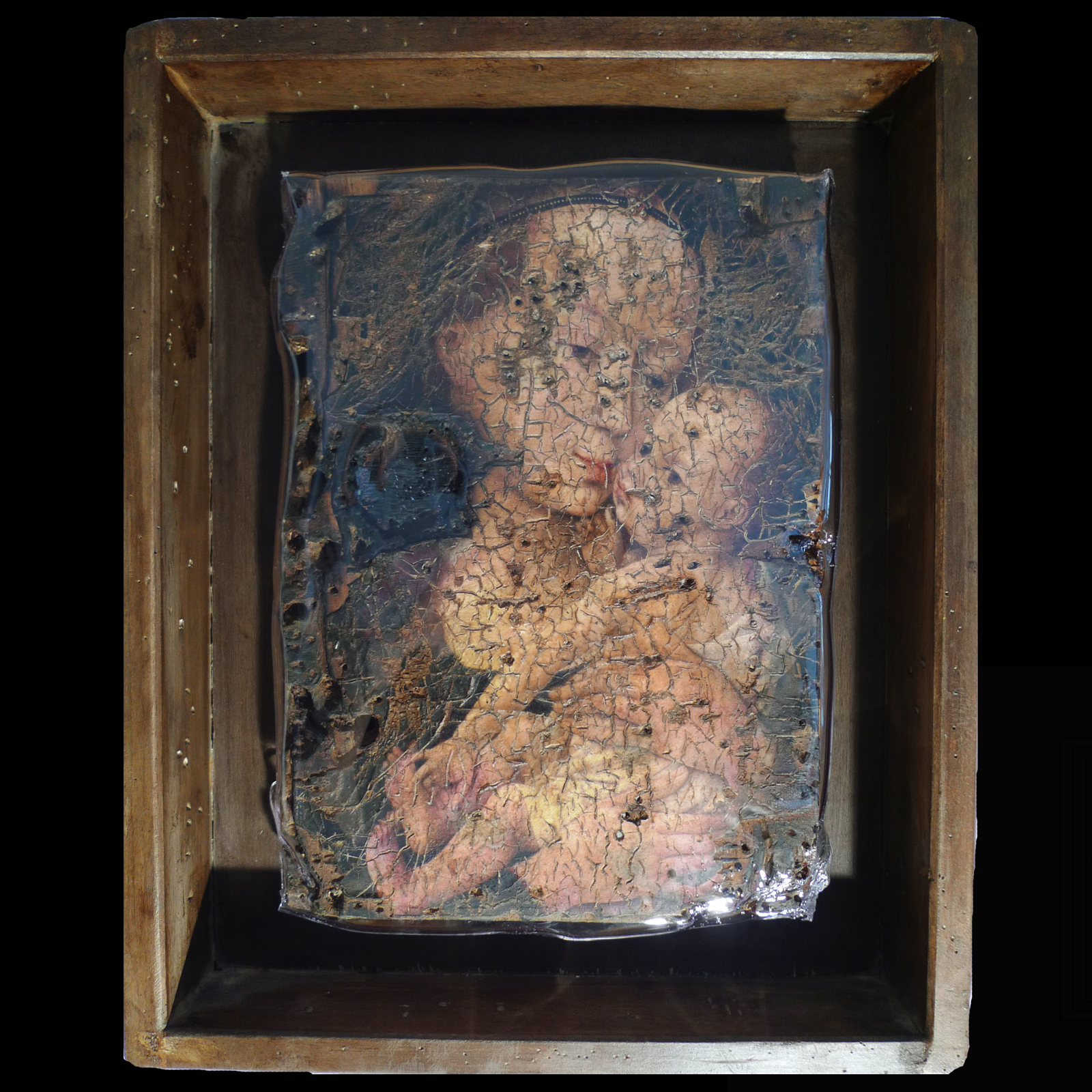 The Virgin Child Joris Ghilini De La Peinture à La Sculpture