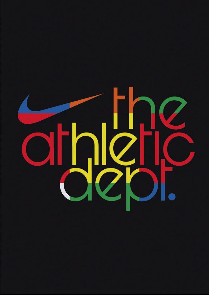 nike athletic department