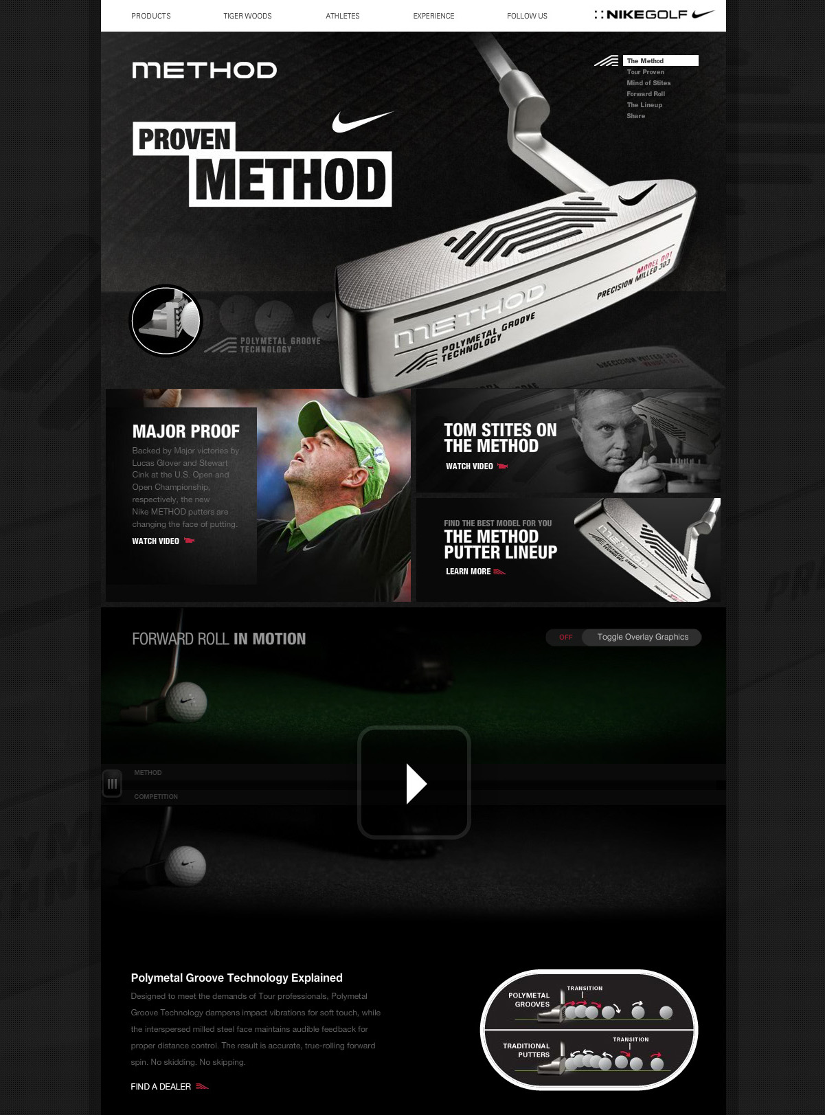 ea4ca46460f65c Nike Golf Method Putter - Edwin Tofslie