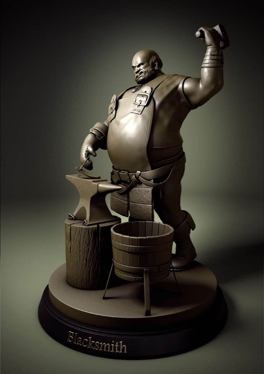 Blacksmith Rui Louro 3D Artist
