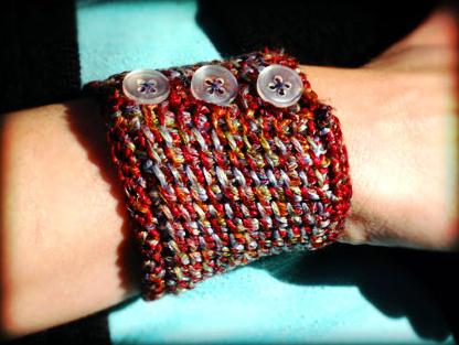 Tunisian Cuff Bracelet Pattern Cann Crochet