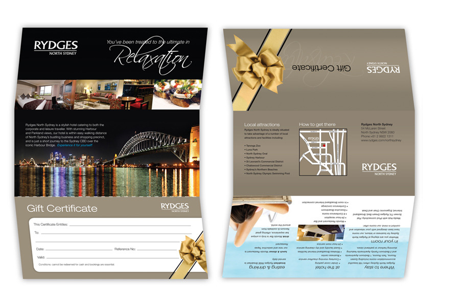 rydges gift voucher joseph casni design and marketing