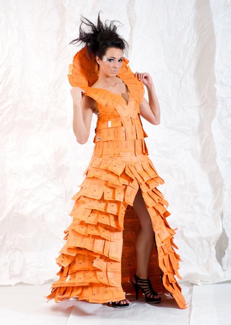 Recycled Fashion Show Design Portfolio