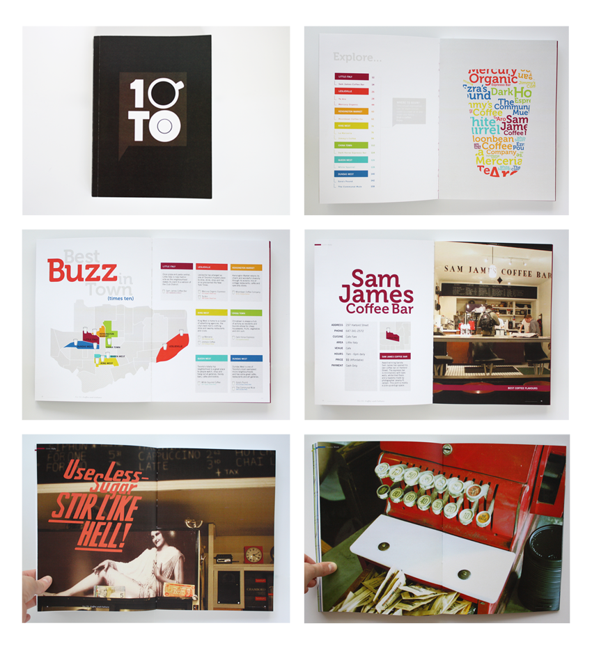 Guide Book: 10TO CAFE GUIDE BOOK