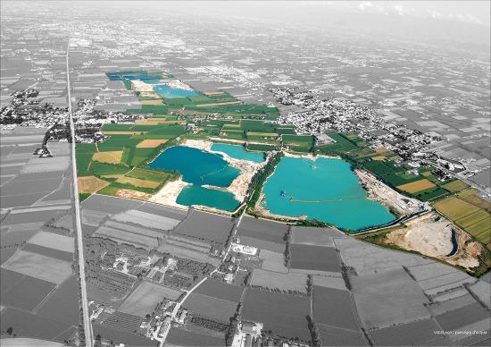 Vedelago Italy  City pictures : ... landscape reorganization around excavation basins Vedelago Italy