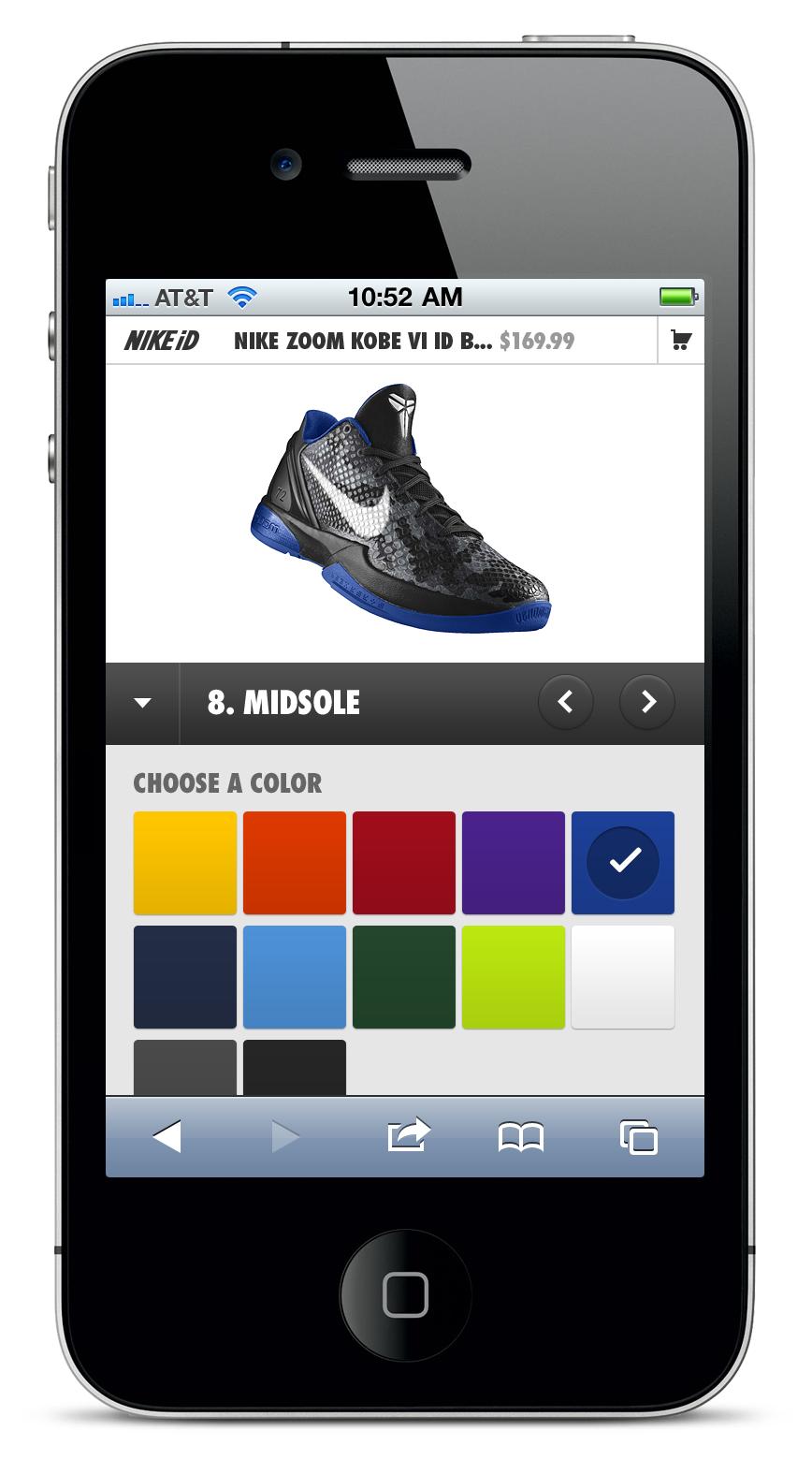 Nike ID - Brian Sugden - UX