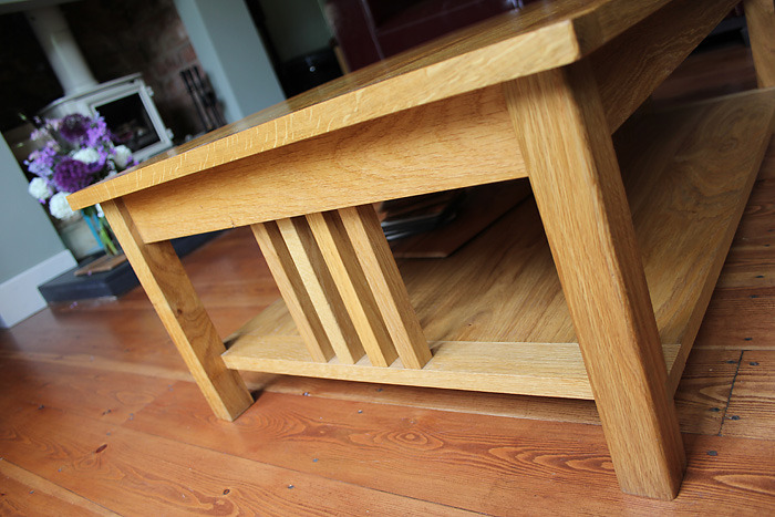next oak coffee table