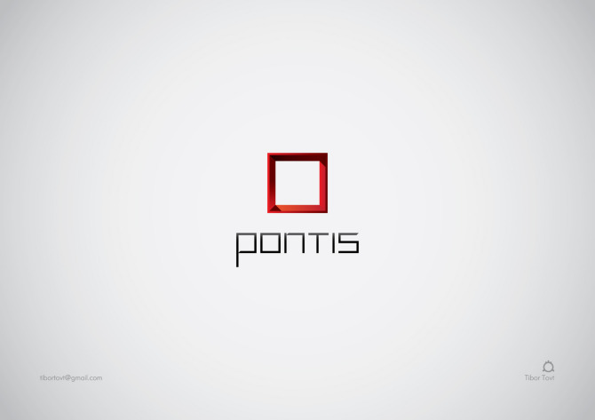 Identity Created For Canadian Based IT Company Pontis