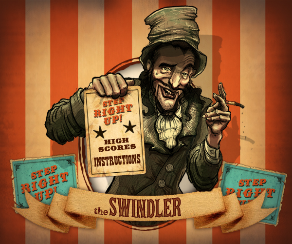 The Swindler Fullmp Game Illustration And Animation By