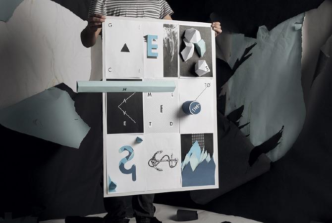 Aaron Filkey cut paper