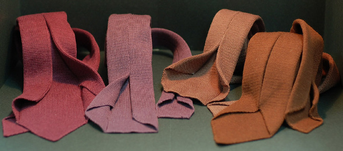 40fab79d65c2 7 fold ties - knitted and woven, 100% silk, wool - exploreenjoy.com
