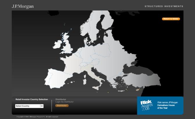 JP Morgan web design (Structured Products) - Christos Hooper