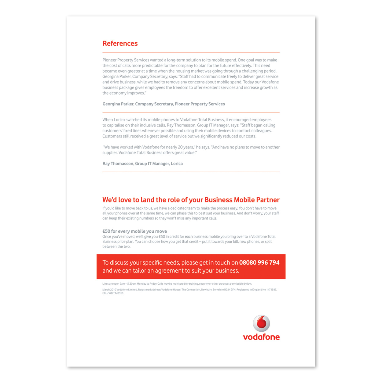 vodafone business cv james fairburn art director vodafone business cv
