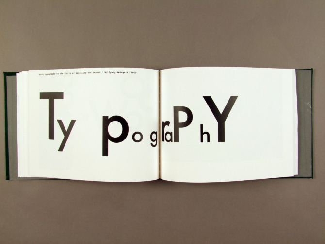typography research paper The atlantic has a great article on new ways to share research results its three parts make three  i had not paid any attention to the typography of the typeset text and.