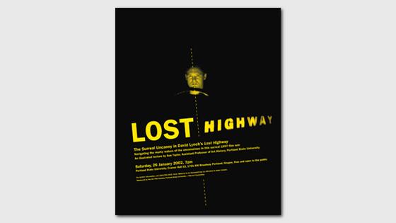 Graphic Design Lost Highway Lis Charman