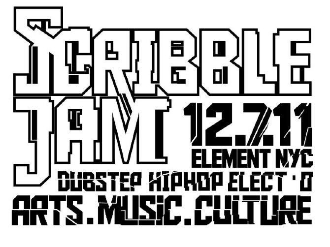 Scribble Jam 2011 Scribble Jam Poster