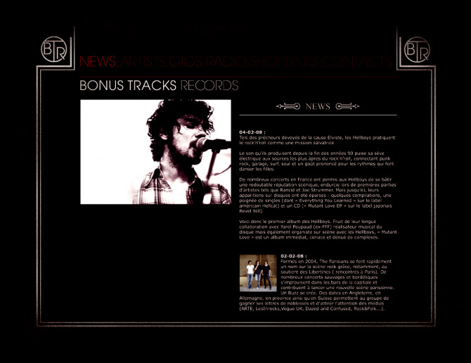 Bonus track records benjamin nakache for Garage ad aurillac