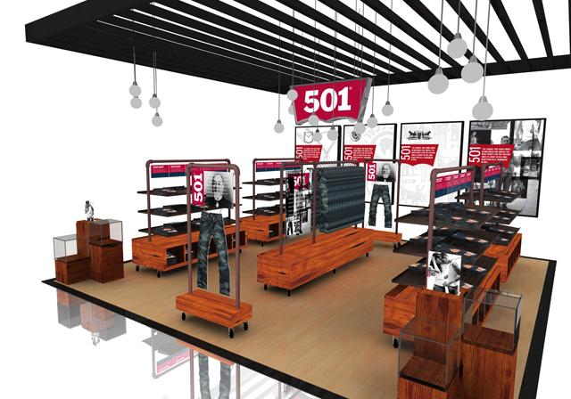Levis - 501 Boutique - Graphic Activist