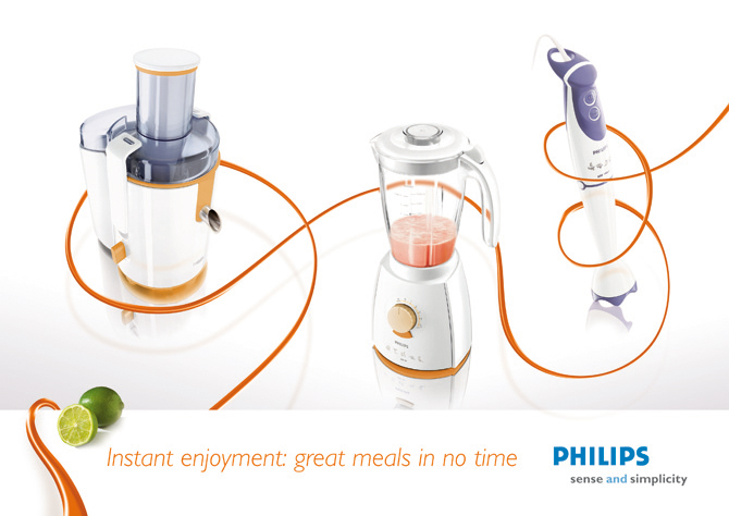 Philips Kitchen Appliances Identity Mike Hambleton
