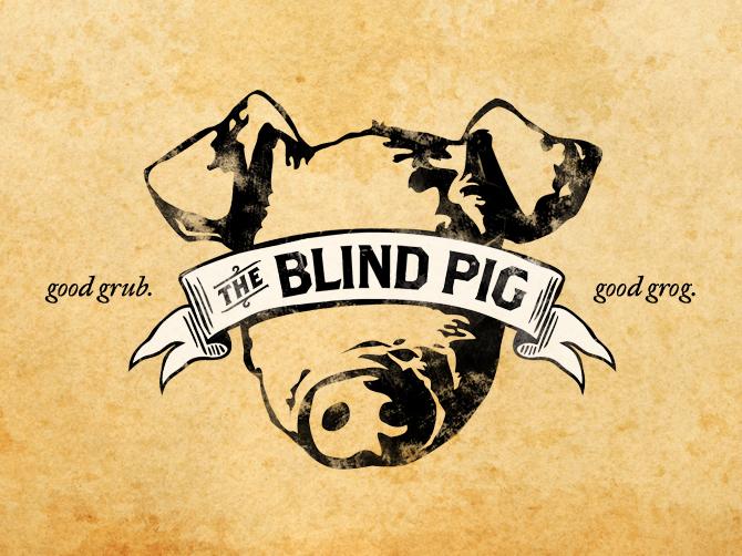The Blind Pig - Dina Cicchini I Graphic Design