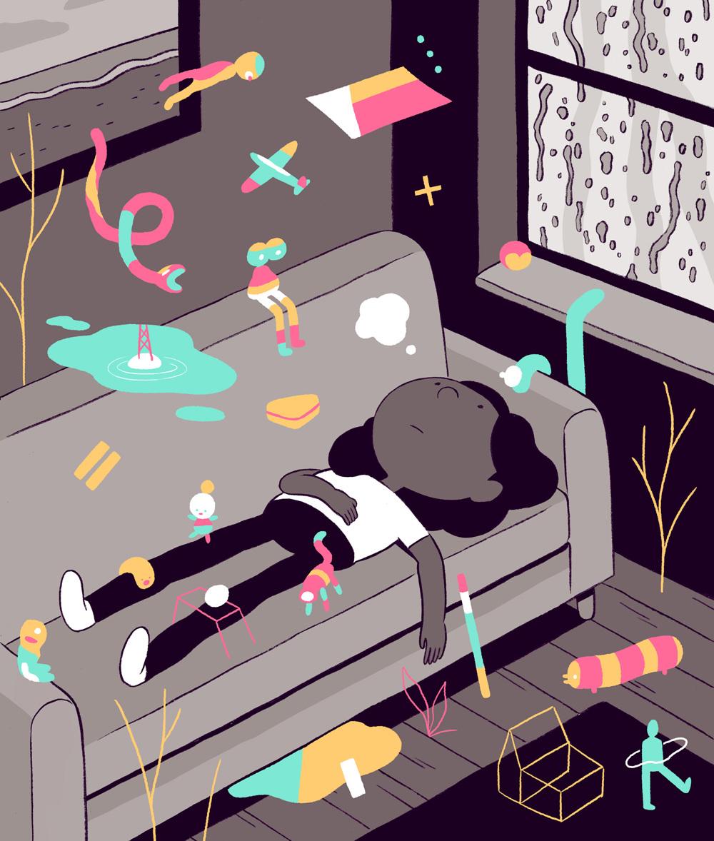 Boredom - Luke Pearson - Illustration and Comics