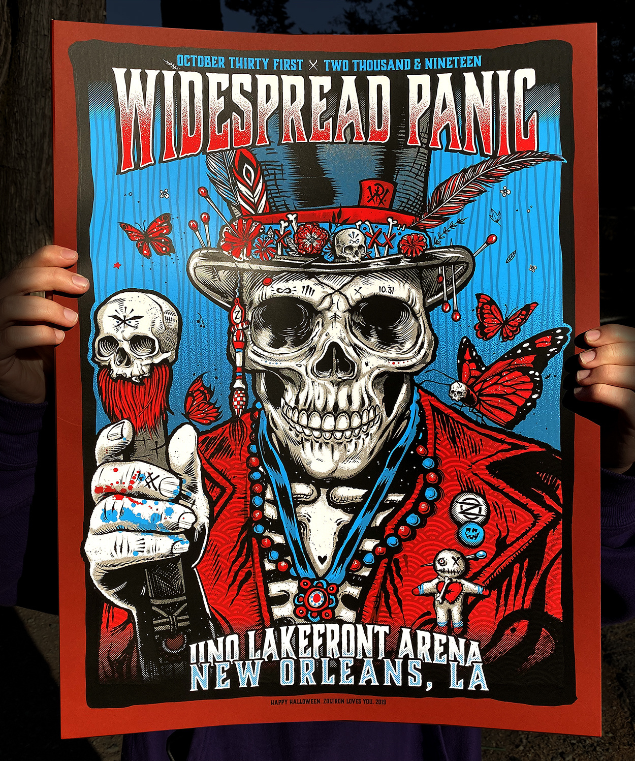 Widespread Panic Poster Halloween 2020 Widespread Panic Halloween 2019   zoltron