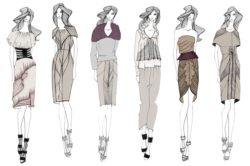 Fashion Designers Portfolio How To Fashion Design