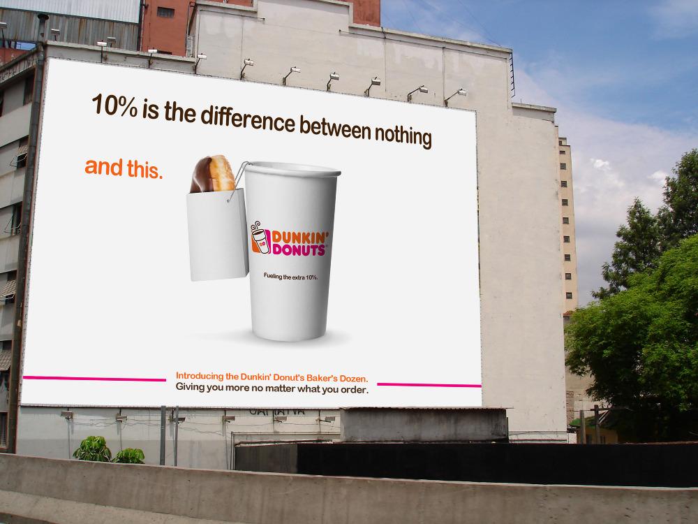 Dunkin Donuts Billboard Dunkin - stuartknowlanDunkin Donuts Billboard