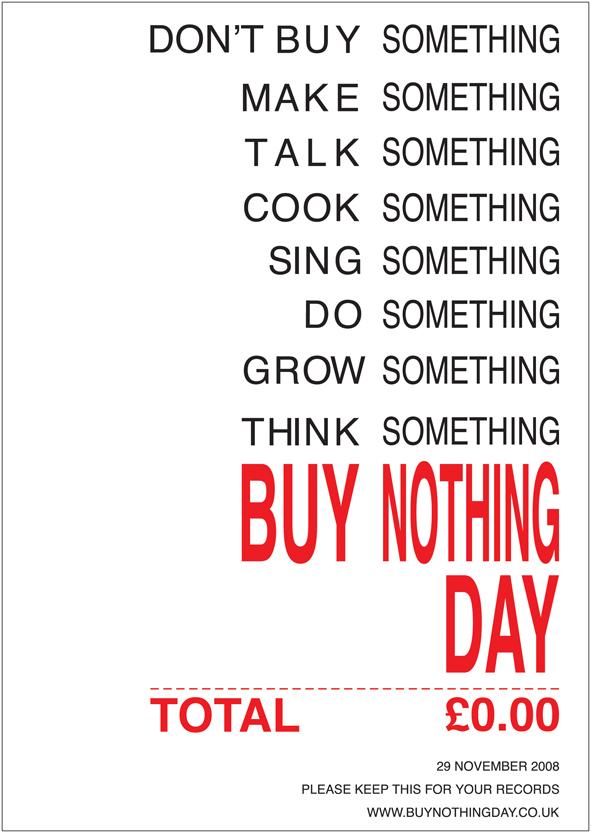 Buy nothing day munseok choi