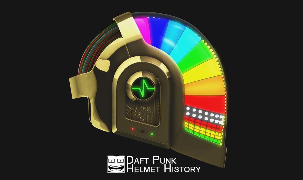 Daft Punk Helmet Evolution - RodPower Daft Punk Helmet Evolution