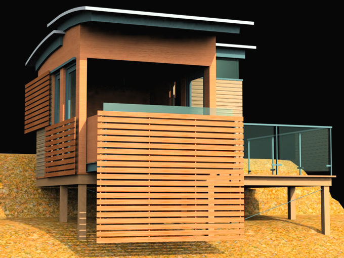 Muskoka Bunkie Mccormack Architects