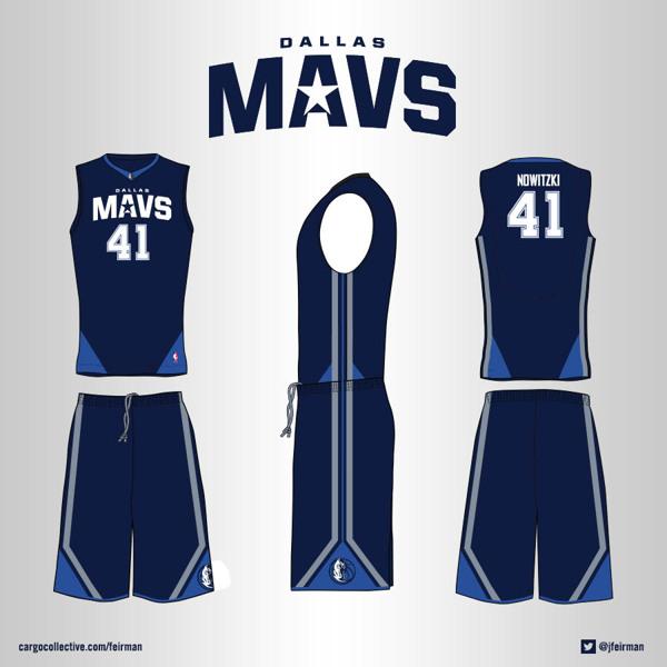 competitive price 2bde7 b546e Dallas Mavs Uniform - feirman - Personal network