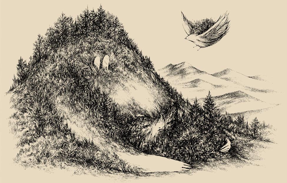misc drawings ink on paper scott lenhardt