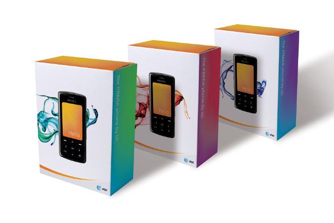 Prada phone packaging - Scott Huston