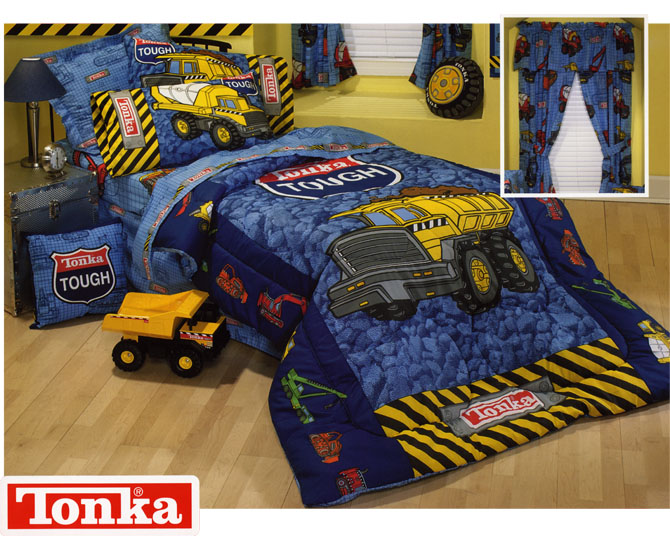 Tonka Truck Toddler Bedding Set