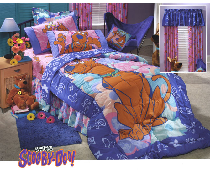 Scooby Doo Bed Set Full