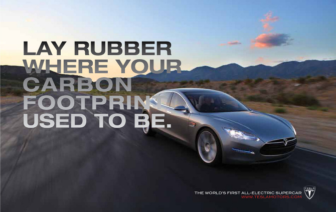 Tesla Branding
