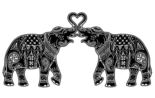 Henna Elephant Designs Images amp Pictures Becuo