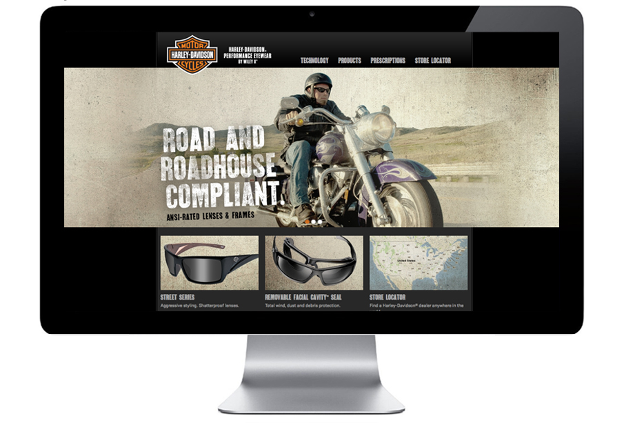 d5db1f09f7 Harley-Davidson Eyewear - Matt Graff    Art Director